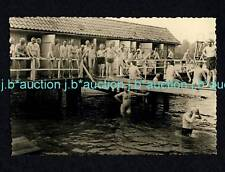 Nudism nude Men 's Open Air pool skinny dipping * 50s GAY INT Photo nudo uomini