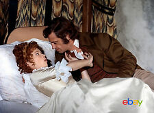 PHOTO LES MARIES DE L'AN II - JEAN-PAUL BELMONDO & MARLENE JOBERT - 11X15 CM