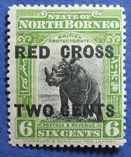 1918 NORTH BORNEO 6+2c SC# B19a SG# 221a UNUSED CS05263