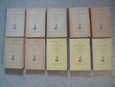 Revue des études latines - Durry-10 vol.-1966 à 1975-Antiquité-Rome-Latin-Italie