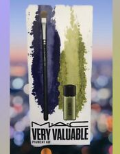 M.A.C Very Valuable Pigment Kit Chartreuse 2.5g 248 Smal Eye Shader Brush NEW
