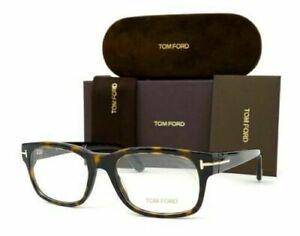 Tom Ford TF5432 Eyeglasses TF 5432 052 Dark Havana Optical Frame New 52mm