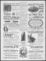 1888 Antique Print - ADVERTISING Mappin Webb Egerton Burnetts Streeter    (149)