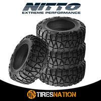 (4) New Nitto Mud Grappler X-Terra 33/12.5/17 120Q Mud Terrain Tire