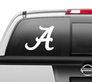 Alabama A Crimson Tide Window Sticker Vinyl Decal any size any color