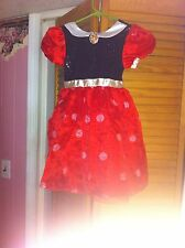 Disney Store  Minnie Mouse Dress- Xs-4