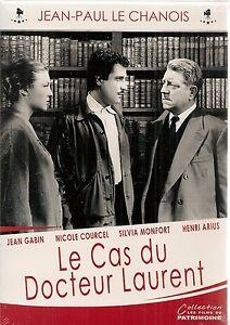 """DVD """"Le Cas du docteur Laurent"""" -Jean Gabin NEUF SOUS BLISTER"""
