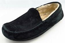 UGG Australia Shoes Size 11 M Black Driving Moccasin Leather Men