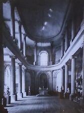 Chapel, Château de Lunéville, France, Magic Lantern Glass Slide,Germain Boffrand