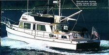 GRAND BANKS 42 ft. Hochseefischer, Jacht. Modellbauplan Masstab 1:12