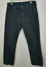 Women`s Vintage Levi`s 501 High Waist Mom Jeans UK 12 / W32 L36 Black No Badge