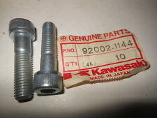NOS OEM Kawasaki 1985 ZX750 Turbo Socket Bolt QTY2 92002-1144