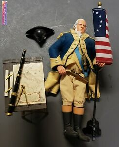 "WOW! J GI Joe Classic Collection General George Washington 12"" Action Figure"