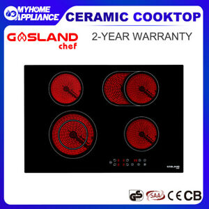GASLAND chef Ceramic Cooktop 77CM Touch Control 4 Cooking Zones Electric Cooker