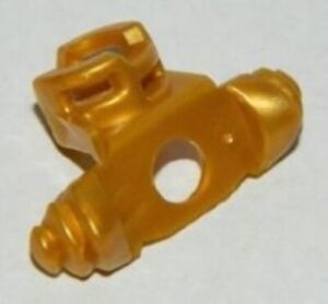 used LEGO Ninjago pearl-gold Shoulder Armor with Scabbard
