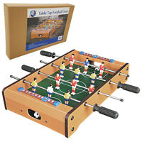 Mini Table Top Football Foosball Players Family Game Toy Kids Play Set Gift