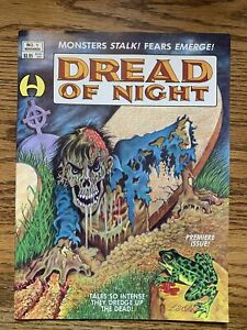 Dread of Night #1 VF-  Hamilton Comic Magazine L.B. Cole Cover Art