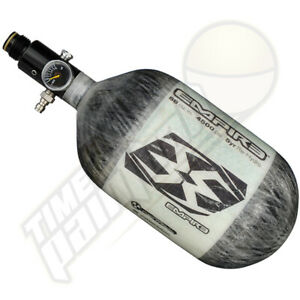 Empire Paintball Carbon Fiber Compressed Air HPA Tank - 68/4500 - Grey Megalite