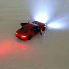1:32 Maserati Alloy Diecast Toys Car Model Sound & Light Collections & Gifts Red