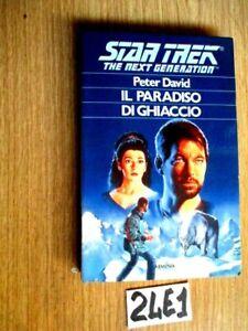 DAVID STAR TREK IL PARADISO DI GHIACCIO      (24E1)