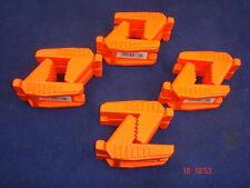 4 paia di Spear & Jackson del muratore linea Blocco in gomma a forma di mattoni arancione
