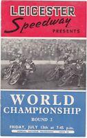 World Championship 13.07.1951 Round 2 @ Leicester Speedway