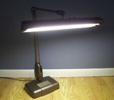 Vintage Mid Century Modern DAZOR P2324 Articulating Desk Drafting Light Lamp