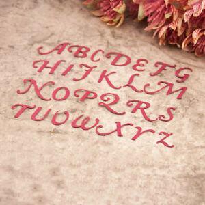 Art Fonts Craft Dies Scrapbooking Metal Cutting Dies Crafts Decoration Dies Cut