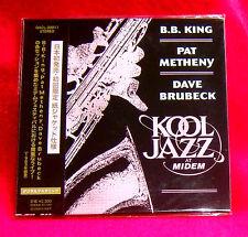B.B. King Pat Metheny Kool Jazz At Midem MINI LP CD JAPAN QACL-30011