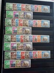 ADEN-GEORGE 6th-1939 SET OF 13-SG 16/27-FINE MOUNTED MINT- CAT £120-4 AVAILABLE