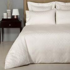 Frette Hotel Riviera Cotton Jacquard QUEEN Duvet Cover IVORY Bedding $600 E300