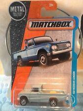 2017 Matchbox Blue '62 Nissan Junior Pickup