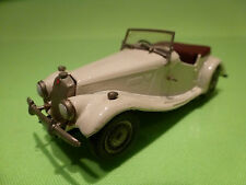 WESTERN MODELS 1:43 MG TF  1953  - RARE SELTEN  - GOOD CONDITION