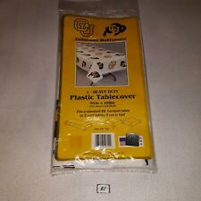 """Colorado Buffaloes Rectangular Tablemate Heavy Duty Plastic Table Cover 54x108"""""""