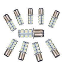 10PCS Super White T25/S25 1157 Bay15d 18-SMD 5050 LED Tail Brake Light Bulb 12v