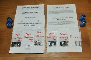 Harman Kardon 430 730 receiver restoration kit service recap capacitor rebuild