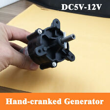 1PCS Used DC 6/12/24V Hand Generator Wind Water Power Generator For Test DIY