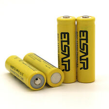 4pcs 2800mAh 14500 Battery Rechargeable Li-ion Lithium 3.7V Batteries USA Stock