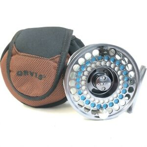 Orvis Access Mid Arbor-IV Fly Reel With Original Box Plus Line *Demo Model*