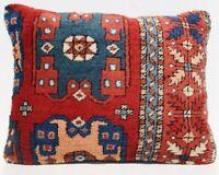 "24x18"" home decorative Anatolian Turkish pillow handmade carpet rug pillow cover"