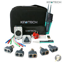 Kewtech KT1790 KIT38, Lightmate, PAT Adaptor, R2 Socket Tester and Test Lead Set