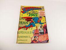 1965 SUPERMAN #181 DC COMIC 2.5  COMPLETE-FUTURE SUPERMAN
