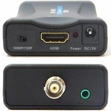Convertitore video trasformatore ingresso coassiale BNC a uscita HDMI 1080p/720p