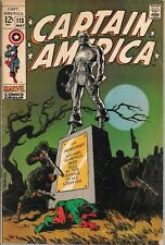 Captain America 113 (1969) FN/VF (7.0) Steranko
