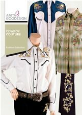 ANITA GOODESIGN - COWBOY COUTURE -MACHINE EMBROIDERY DESIGNS USB PES
