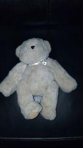 "Plush Vermont Teddy Bear Company 10"" Jointed Stuffed Bear"