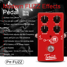 Fuzz Mini Guitar Pedal with FET Circuit Simulate Ture Tube Sound for Scoop Knob