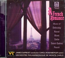 A FRENCH ROMANCE with JAMES DEPRIEST: CLASSICAL INSTRUMENTAL DINNER MUSIC CD OOP