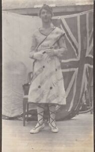 OLD PHOTO SHIP MAN DRESSED WOMAN DRESS COMIC HUMOUR AUSTRALIA W4