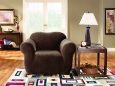 Sure Fit Stretch Couch Cover - 1 Seater From Right Buy Coffee